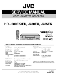Service Manual JVC HR-J780EU