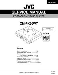 Service Manual JVC XM-PX50WT