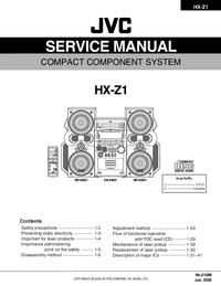 hx z1 service manual jvc download your lost manuals for free. Black Bedroom Furniture Sets. Home Design Ideas