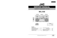 Manual de serviço JVC SP-MXJ100