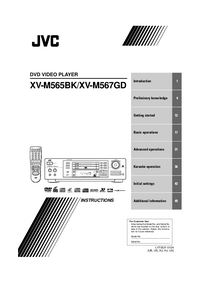 Manual del usuario JVC XV-M565BK