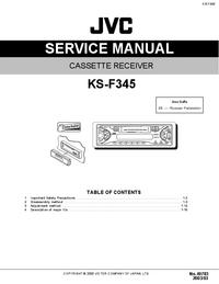 Servicehandboek JVC KS-F345