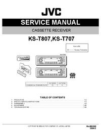 Servicehandboek JVC KS-T807