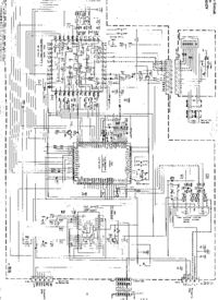 Cirquit diagramu JVC UX-T3