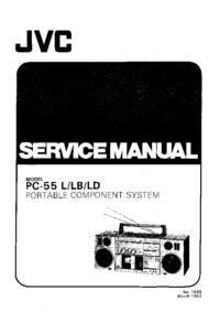 manuel de réparation JVC PC-55L