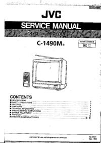 Manuale di servizio JVC C-1490M
