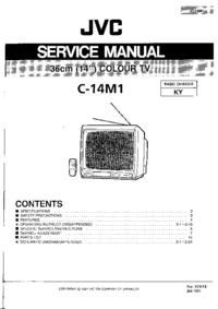 manuel de réparation JVC C-14M1