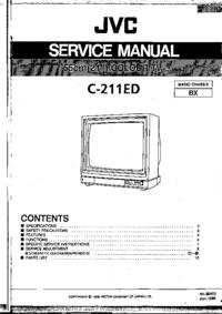 Instrukcja serwisowa JVC C-211ED