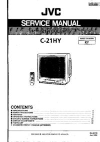 Service Manual JVC C-21HY