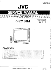 Instrukcja serwisowa JVC C-S2180M