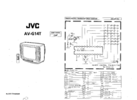 Cirquit Diagram JVC AV-G14T
