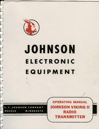 Manuale d'uso, Cirquit Diagramma Johnson Viking II