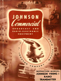 Servicio y Manual del usuario Johnson Viking 1