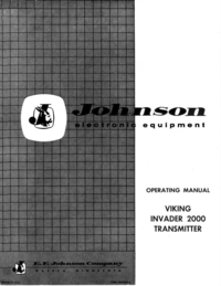 Manual del usuario Johnson Viking Invader 2000