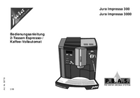 User Manual Jura Jura Impressa 3000