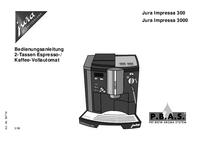 Gebruikershandleiding Jura Jura Impressa 300