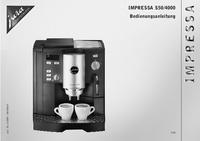 Руководство пользователя Jura Impressa S50/4000