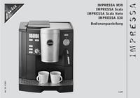 Manuale d'uso Jura IMPRESSA Scala Vario