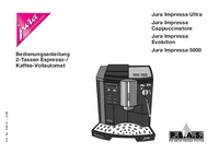 User Manual Jura Impressa Cappuccinatore