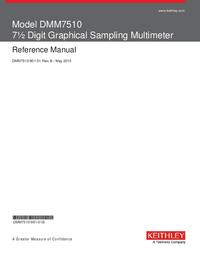 Instrukcja obsługi Keithley DMM7510