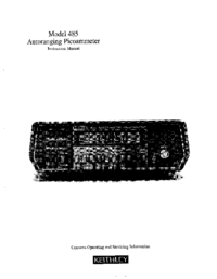 Keithley-3952-Manual-Page-1-Picture