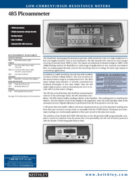 Keithley-5593-Manual-Page-1-Picture
