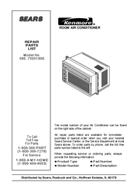 Kenmore-5563-Manual-Page-1-Picture