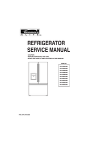 Service Manual Kenmore 795.78546.805