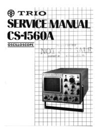 Manual de serviço Kenwood CS-1560A