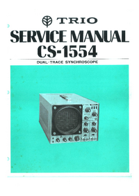 Service Manual Kenwood CS-1554