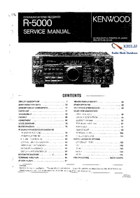Service Manual Kenwood R-5000