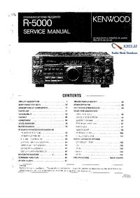 Manual de servicio Kenwood R-5000