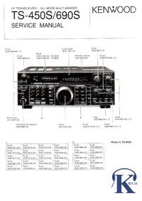 Manual de servicio Kenwood TS-690S