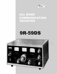 Servicio y Manual del usuario Kenwood 9R-59DS