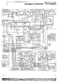 Manual de servicio, diagrama cirquit sólo Kenwood TH-55AT