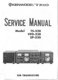 Manual de servicio Kenwood SP-520