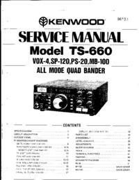 Service Manual Kenwood TS-660