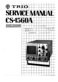 Manual de servicio Kenwood CS-1560A