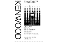 User Manual Kenwood UBZ-LH 14