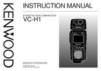 Manuel de l'utilisateur Kenwood VC-H1