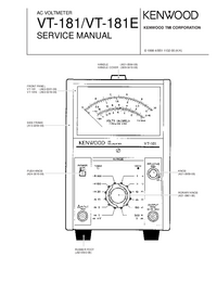 Service Manual Kenwood VT-181