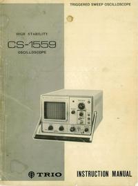 Servizio e manuale utente Kenwood CS-1559