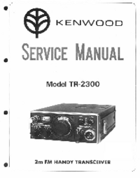 Manual de servicio Kenwood TR-2300