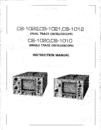 Manuale d'uso Kenwood CS-1010