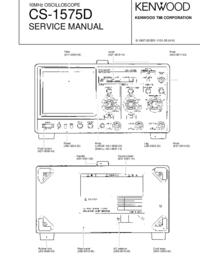 Service Manual Kenwood CS-1575D