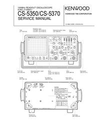 Service Manual Kenwood CS-5370