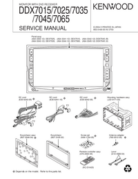 Service Manual Kenwood DDX7045