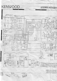Cirquit Diagrama Kenwood KA-32