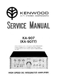 Manual de servicio Kenwood KA9077