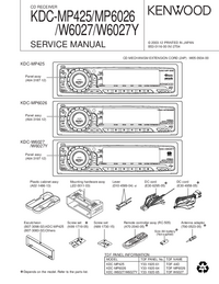 Servicehandboek Kenwood KDC-MP6026